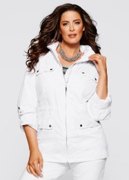 Parka, bpc selection, blanc