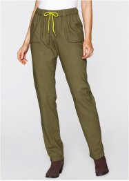 Pantalon-jogging, bpc bonprix collection, vert kaki