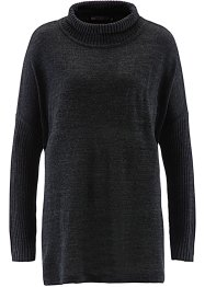 Pull, bpc selection, anthracite chiné