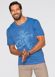 T-shirt Regular Fit, bpc bonprix collection, bleu