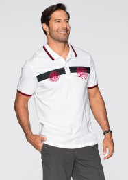 Polo Regular Fit, bpc bonprix collection, blanc