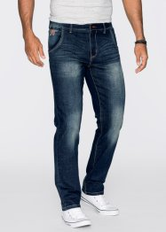 Jean extensible Regular Fit Straight, John Baner JEANSWEAR, bleu foncé used