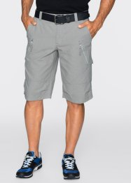 Bermuda cargo Regular Fit, bpc bonprix collection, gris neutre