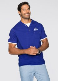 T-shirt Regular Fit, bpc bonprix collection, bleu saphir