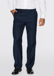 Pantalon de costume Regular Fit Straight, bpc selection, bleu foncé