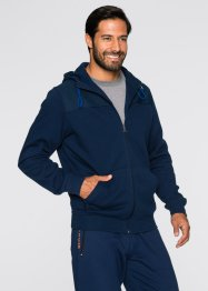 Gilet sweat-shirt Regular Fit, bpc bonprix collection, bleu foncé