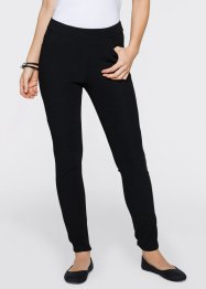 Pantalon extensible, bpc bonprix collection, noir