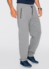 Pantalon sweat Regular Fit, bpc bonprix collection, gris chiné