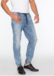 Jean Slim Fit Straight, RAINBOW, bleu