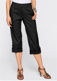 Pantalon 3/4, bpc selection, noir