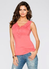 Top, BODYFLIRT, corail