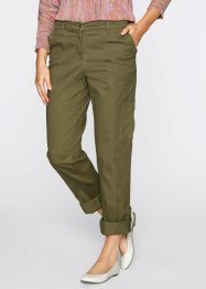 Pantalon cargo, bpc bonprix collection, vert kaki