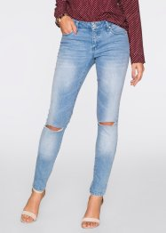 MUST-HAVE : Jean skinny push-up, BODYFLIRT, bleu bleached