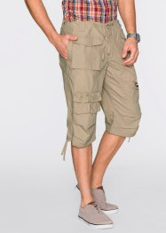 Bermuda long Loose Fit, bpc bonprix collection, beige