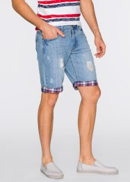 Bermuda Loose Fit, John Baner JEANSWEAR, bleu clair used