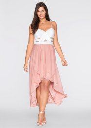 Robe, BODYFLIRT, blanc/rose