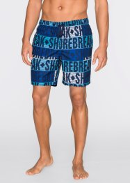 Short de bain long Regular Fit, RAINBOW, bleu imprimé