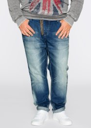 Jean Loose Fit Tapered, RAINBOW, bleu used