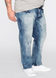 Jean Loose Fit Straight, RAINBOW, bleu used