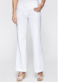 Pantalon en mélange lin, bpc selection, saumon