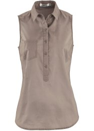 Tunique sans manches, bpc bonprix collection, taupe