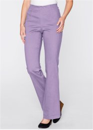 Pantalon extensible Bootcut, bpc bonprix collection, lilas