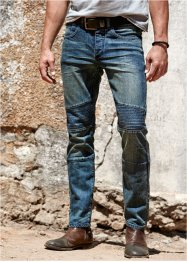 Jean extensible Slim Fit Straight, RAINBOW, bleu used
