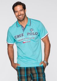 Polo Regular Fit, bpc bonprix collection, bleu ciel