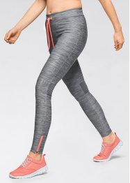 Pantalon running, bpc bonprix collection, gris fumée chiné