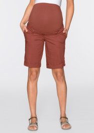 Short de grossesse, bpc bonprix collection, marron marsala