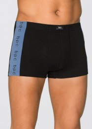 Lot de 3 boxers, bpc bonprix collection, noir/bleu imprimé