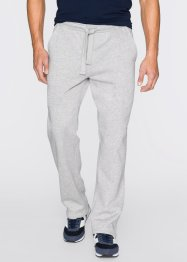 Pantalon matière sweat Regular Fit, bpc bonprix collection, gris clair chiné