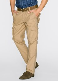 Pantalon cargo Loose Fit, bpc bonprix collection, cappuccino