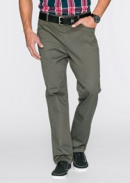 Pantalon extensible Classic Fit, bpc bonprix collection, olive foncé