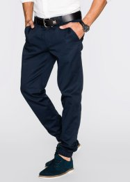 Pantalon chino Regular Fit, bpc bonprix collection, bleu foncé