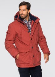 Veste outdoor Regular Fit, bpc selection, rouge/bleu foncé