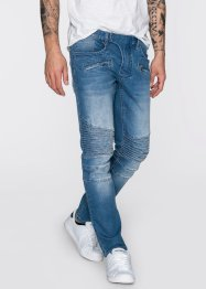 Jean extensible Slim Fit Straight, RAINBOW, medium bleu bleached used