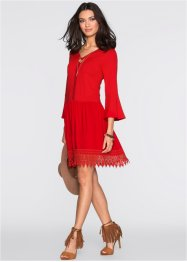 Must-Have : Robe boho avec application, BODYFLIRT, rouge