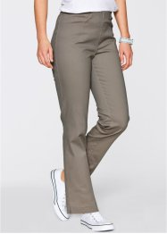 Pantalon extensible Droit, bpc bonprix collection, taupe