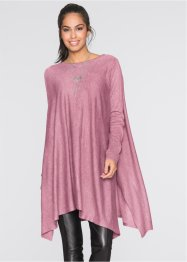 Pull long, BODYFLIRT, vieux rose chiné