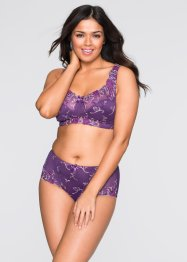 Soutien-gorge de maintien sans armatures, bpc selection, myrtille