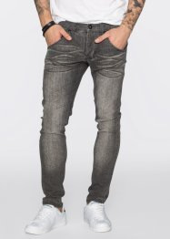 Jean super extensible Skinny Fit Straight, RAINBOW, light gris denim used