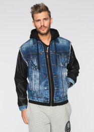 Blouson en jean Regular Fit, RAINBOW, bleu stone used