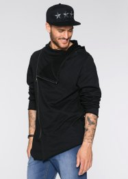 Gilet sweat-shirt Slim Fit, RAINBOW, noir