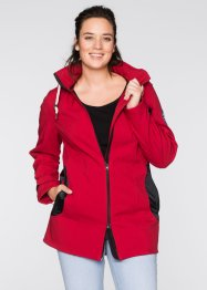 Veste softshell extensible, bpc bonprix collection, rouge foncé