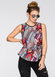 Tunique, RAINBOW, motif multicolore