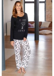 Pyjama, bpc bonprix collection, multicolore