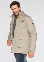 Veste longue légèrement rembourrée Regular Fit, bpc bonprix collection, sable