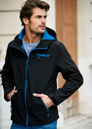 Veste softshell Regular Fit, bpc bonprix collection, noir