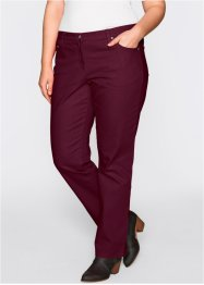 Pantalon droit en twill, bpc bonprix collection, rouge érable